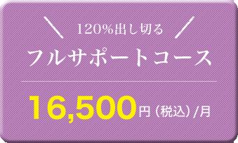 フルサポートコース 15,000円(税込)/月